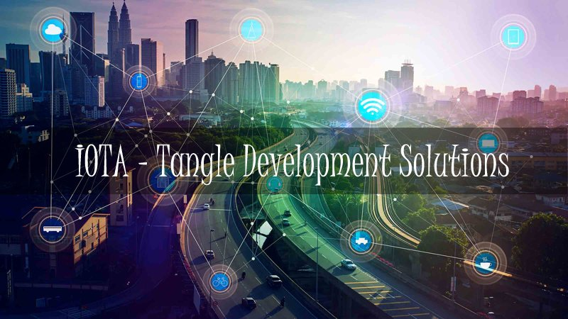 the all in one tangle iota development solutions